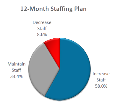 Insurance Industry 12-Month Staffing Plan Forecasts a Growth in Industry Hiring